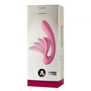 G-wave Dual Rabbit Vibrator Pink