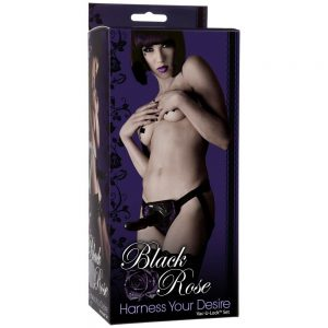BLACK ROSE HARNESS YOUR DESIRE
