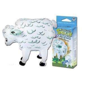 Storming Stella. Inflatable goat with rear hole.